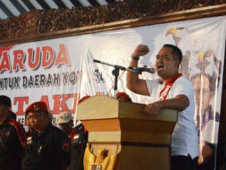 Kusumo Putro Saat Deklarasaikan Relawan Garuda