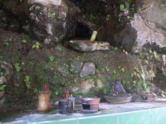 Lokasi Sesaji ritual di Susuh Angin Bagi Pelaku Ritual